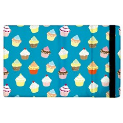 Cupcakes pattern Apple iPad 2 Flip Case