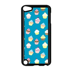 Cupcakes pattern Apple iPod Touch 5 Case (Black)