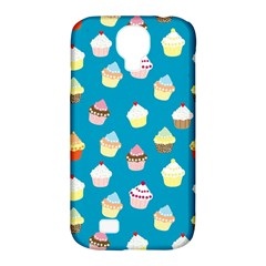 Cupcakes pattern Samsung Galaxy S4 Classic Hardshell Case (PC+Silicone)