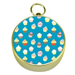 Cupcakes pattern Gold Compasses