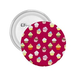 Cupcakes pattern 2.25  Buttons