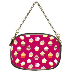 Cupcakes pattern Chain Purses (One Side)