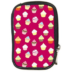 Cupcakes pattern Compact Camera Cases