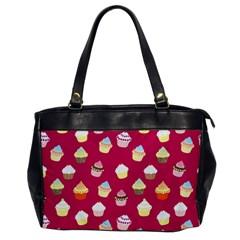 Cupcakes pattern Office Handbags