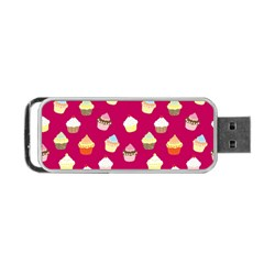 Cupcakes pattern Portable USB Flash (One Side)