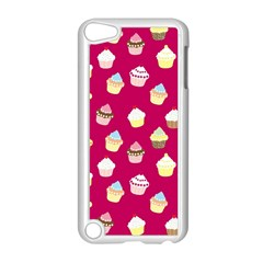 Cupcakes pattern Apple iPod Touch 5 Case (White)