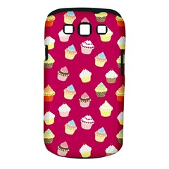 Cupcakes pattern Samsung Galaxy S III Classic Hardshell Case (PC+Silicone)