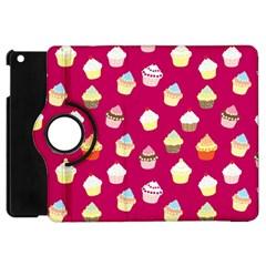 Cupcakes pattern Apple iPad Mini Flip 360 Case