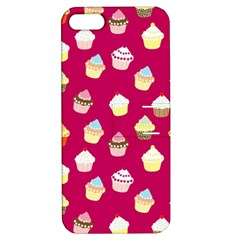 Cupcakes pattern Apple iPhone 5 Hardshell Case with Stand