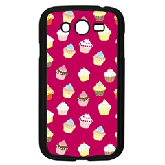 Cupcakes pattern Samsung Galaxy Grand DUOS I9082 Case (Black)