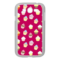 Cupcakes pattern Samsung Galaxy Grand DUOS I9082 Case (White)