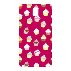 Cupcakes pattern Samsung Galaxy Note 3 N9005 Hardshell Back Case