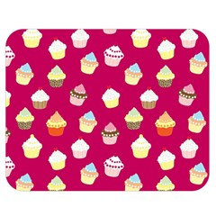 Cupcakes pattern Double Sided Flano Blanket (Medium)