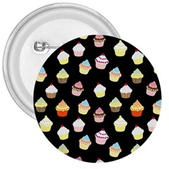 Cupcakes pattern 3  Buttons