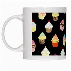 Cupcakes pattern White Mugs