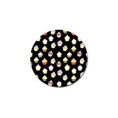 Cupcakes pattern Golf Ball Marker (4 pack)