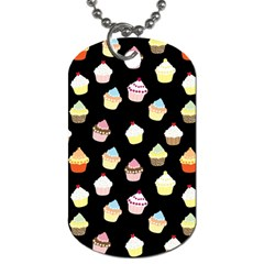 Cupcakes pattern Dog Tag (Two Sides)