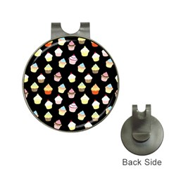 Cupcakes pattern Hat Clips with Golf Markers