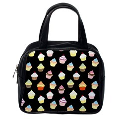 Cupcakes pattern Classic Handbags (One Side)