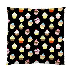 Cupcakes pattern Standard Cushion Case (Two Sides)