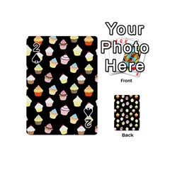 Cupcakes pattern Playing Cards 54 (Mini)