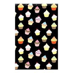 Cupcakes pattern Shower Curtain 48  x 72  (Small)