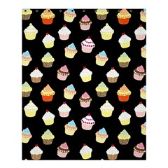 Cupcakes pattern Shower Curtain 60  x 72  (Medium)