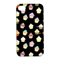 Cupcakes pattern Apple iPhone 4/4S Hardshell Case with Stand