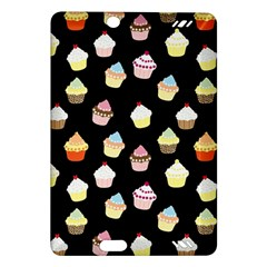 Cupcakes pattern Amazon Kindle Fire HD (2013) Hardshell Case