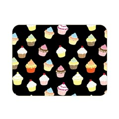 Cupcakes pattern Double Sided Flano Blanket (Mini)
