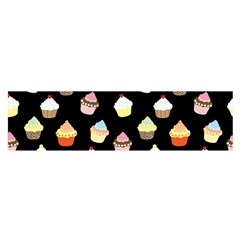 Cupcakes pattern Satin Scarf (Oblong)
