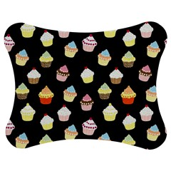 Cupcakes pattern Jigsaw Puzzle Photo Stand (Bow)