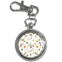 Cupcakes pattern Key Chain Watches