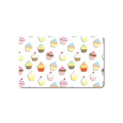 Cupcakes pattern Magnet (Name Card)