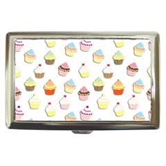 Cupcakes pattern Cigarette Money Cases
