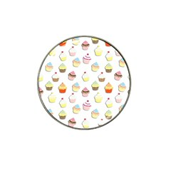 Cupcakes pattern Hat Clip Ball Marker (10 pack)