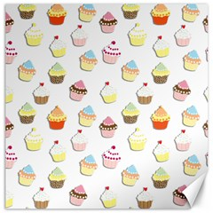 Cupcakes pattern Canvas 20  x 20