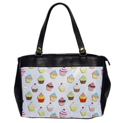 Cupcakes pattern Office Handbags
