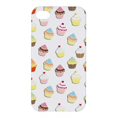 Cupcakes pattern Apple iPhone 4/4S Hardshell Case