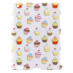 Cupcakes pattern Apple iPad 3/4 Hardshell Case (Compatible with Smart Cover)