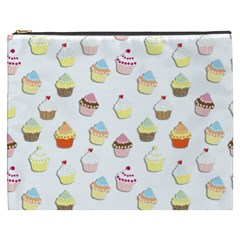Cupcakes pattern Cosmetic Bag (XXXL)