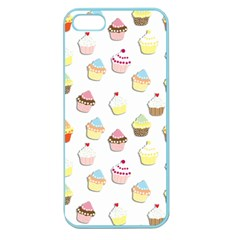 Cupcakes pattern Apple Seamless iPhone 5 Case (Color)