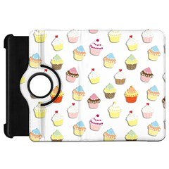 Cupcakes pattern Kindle Fire HD 7