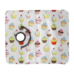 Cupcakes pattern Galaxy S3 (Flip/Folio)