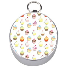 Cupcakes pattern Silver Compasses