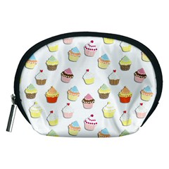 Cupcakes pattern Accessory Pouches (Medium)
