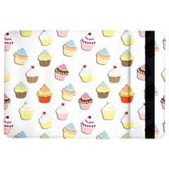 Cupcakes pattern iPad Air 2 Flip