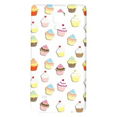 Cupcakes pattern Galaxy Note 4 Back Case