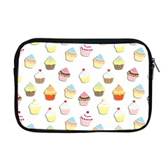 Cupcakes pattern Apple MacBook Pro 17  Zipper Case