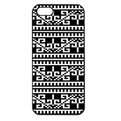 Traditional Draperie Apple iPhone 5 Seamless Case (Black)